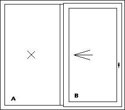 Sklopno-posuvne dvere PSK