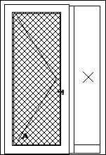 Vchodové dvere s bočným svetlíkom