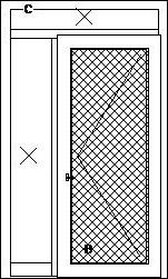 Vchodové dvere s nadsvetlíkom a bočným svetlíkom